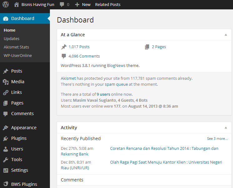 vavai-wp-admin-dashboard-default